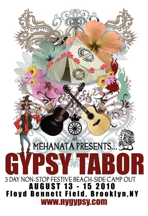 NYC Gypsy Festival poster